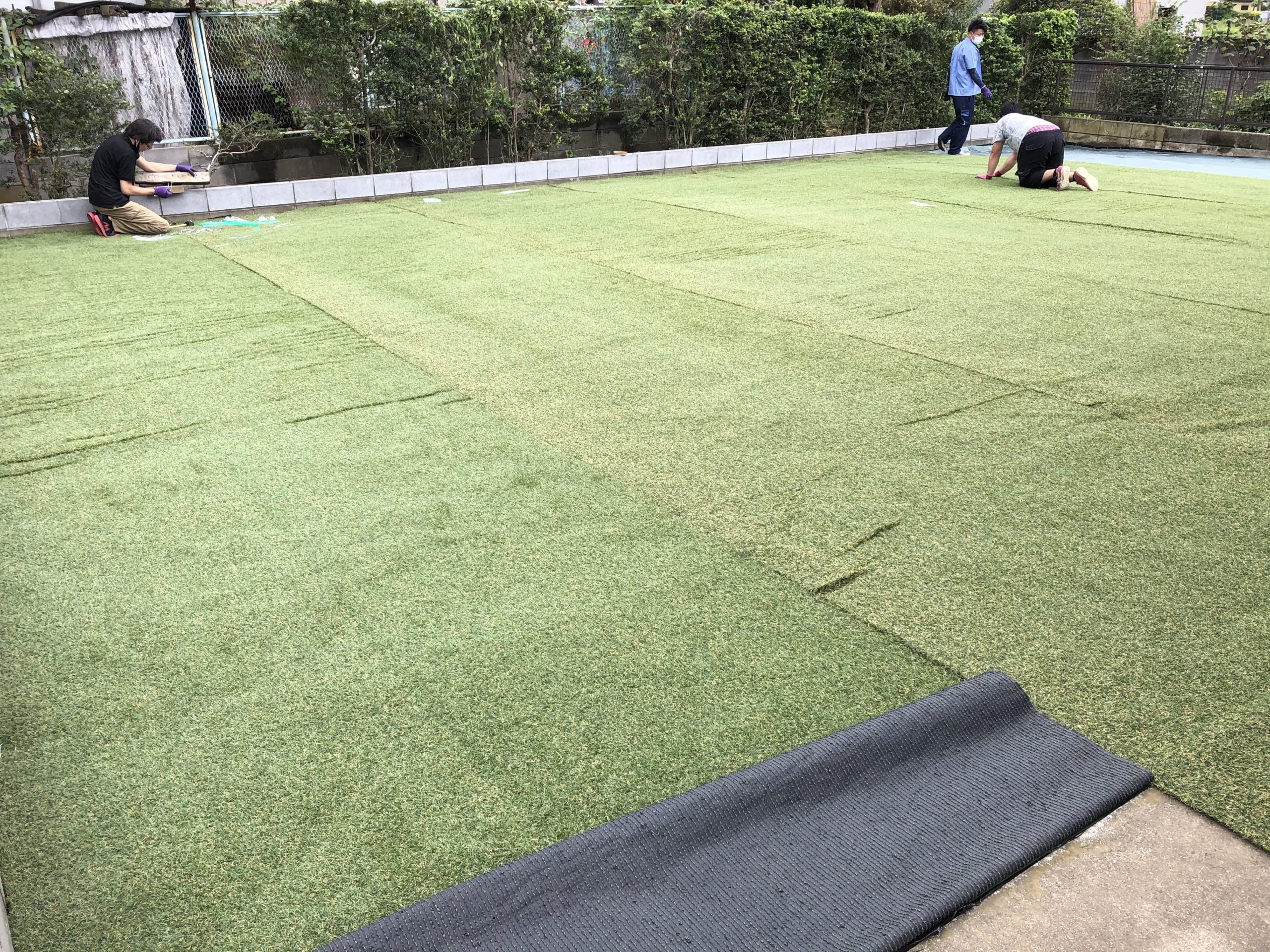 Artificial turf Iris Ohyama DIY construction