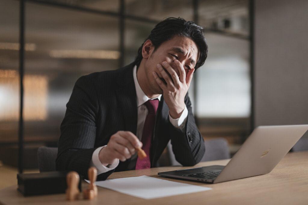 unpleasant job quit